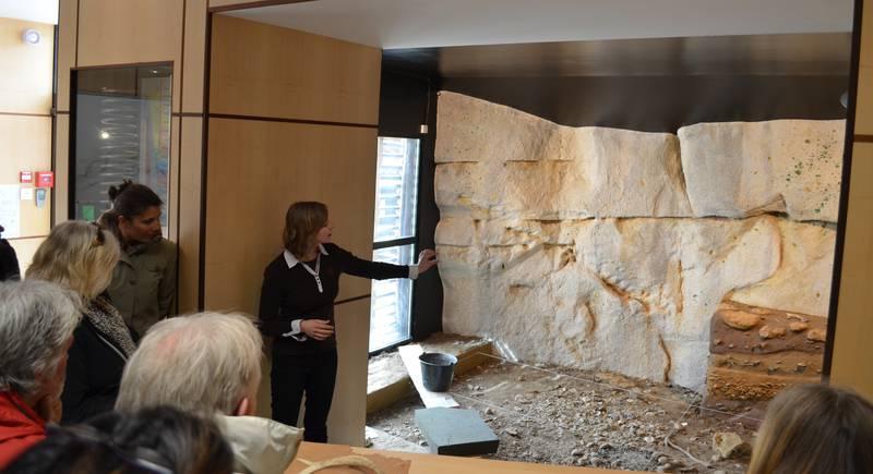 Reconstrucción de un espacio de excavaciones - © Cathy Mabout
