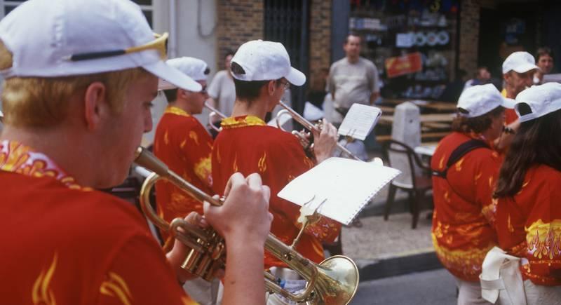 Bandas en la Fiesta de Saint Jean de Gourdon - © Jacphot