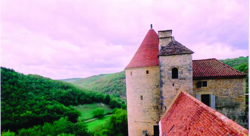 Le Château de Clermont à Concorès (Linars)