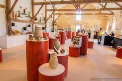 L'Oulerie, salle d'expo à Uzech