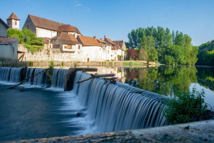 Chaussée du Moulin de Marcilhac-sur-Célé
