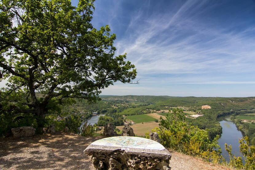 Point de vue à Albas © Lot Tourisme C. Novello