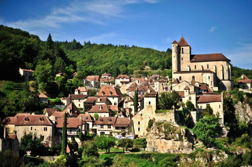 Saint-Cirq-Lapopie en Vallée du Lot © Lot Tourisme - C. ORY