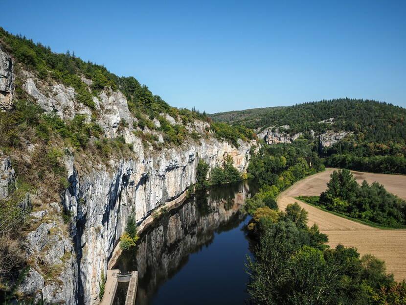 Vallée du Lot à Bouziès @ superchinois801 - Gerard TRANG