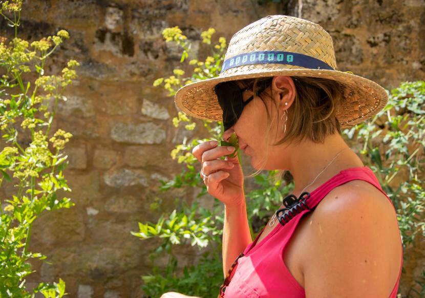 Visite Sensorielle ©Lot Tourisme C. Novello