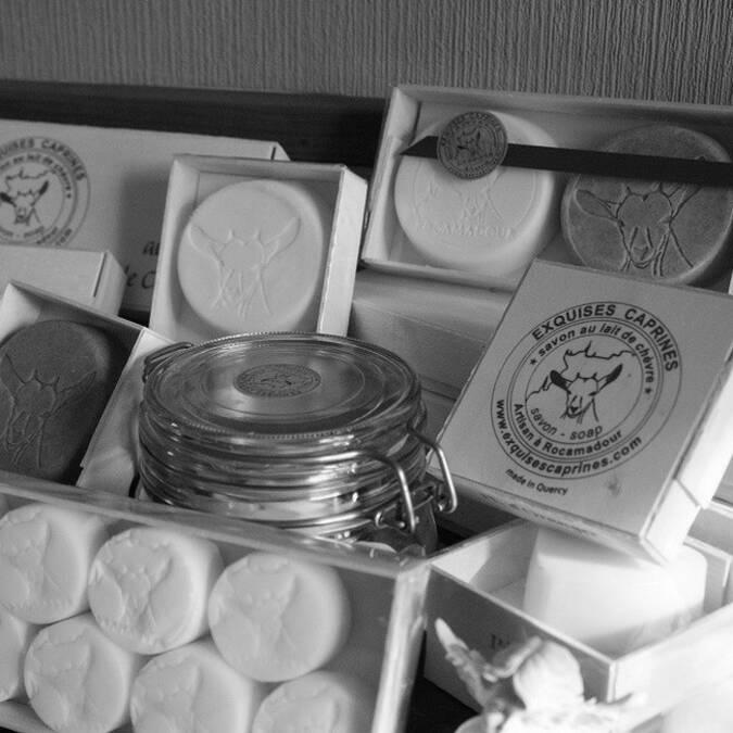 Exquises Caprines, les savons de Rocamadour